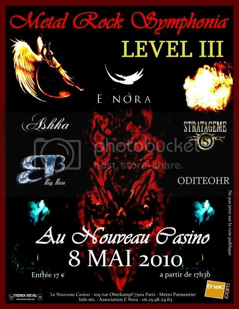 METAL ROCK SYMPHONIA LEVEL III @ Paris