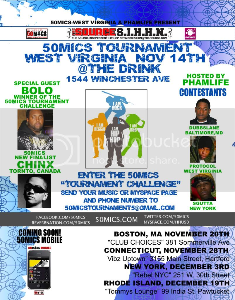 50MICS WEST VIRGINIA, NOV 14TH